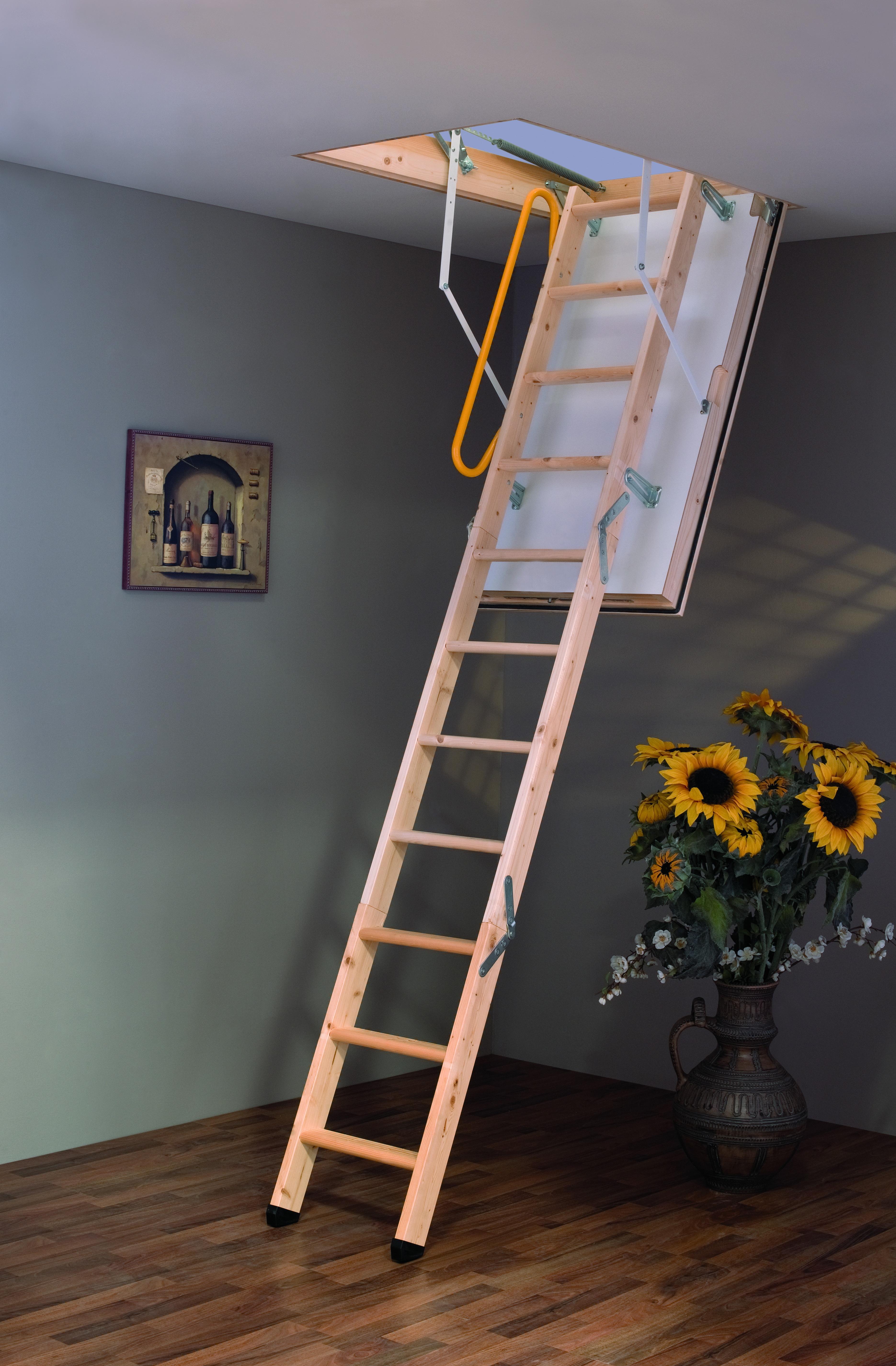 Фото и как сделать лестницу на чердак